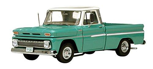 1/18 シボレー ピックアップ C-10 Styleside 1965(アイボリー×ライトグリーン) 1363