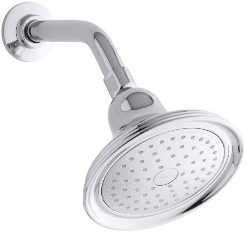 Kohler Chrome Spray Faucet - KOHLER K-10391-AK-CP Devonshire Single-Faucet Katalyst Showerhead, Polished Chrome
