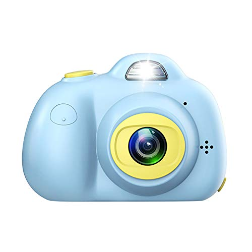 Amoper Children Kids Camera Dual Selfie 1080P HD Digital Toys Camera Video Photography Hobby for Age 3/4/5/6/7/8/9 Girls Boys Birthday (Blue)
