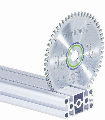 Festool 495383 Aluminum/Plastic Cutting Blade For TS 75 Plunge Cut Saw - 72 Tooth