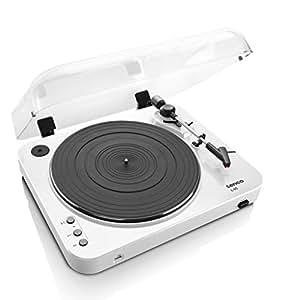 Lenco L-85 Belt-Drive Audio Turntable Blanco - Tocadiscos (Blanco)