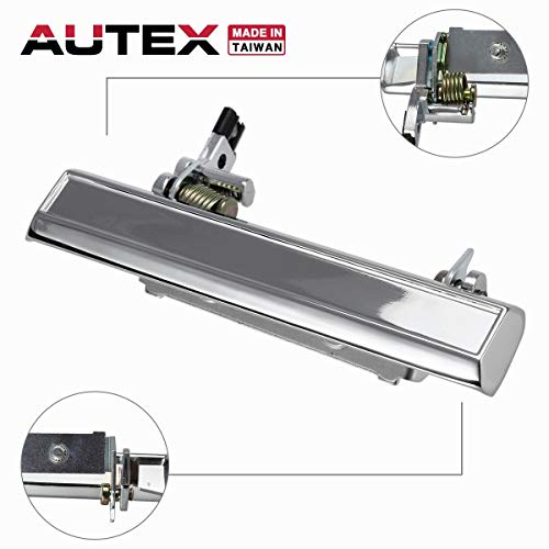 AUTEX Exterior 77017 Door Handle Passenger Side RH Right Compatible with Camaro Caprice Door Handle