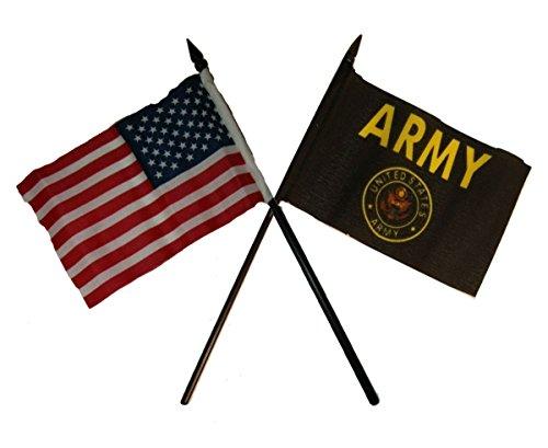 USA American U.S. Army Black Crest Seal Flag 4