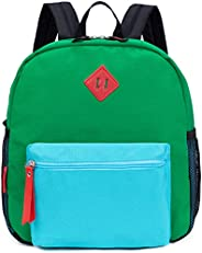 HawLander Preschool Backpack, 12 inch Toddler Backpacks for Kids Boys with Chest Strap