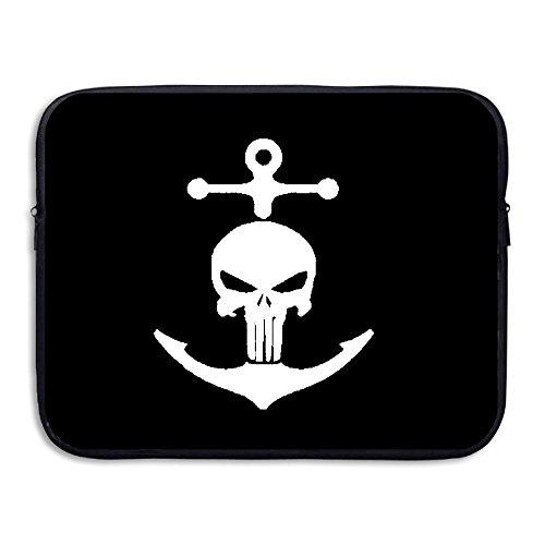 Anchor Pirate Briefcase Handbag Case Cover For 13-15 Inch Laptop, Notebook, MacBook Air/Pro