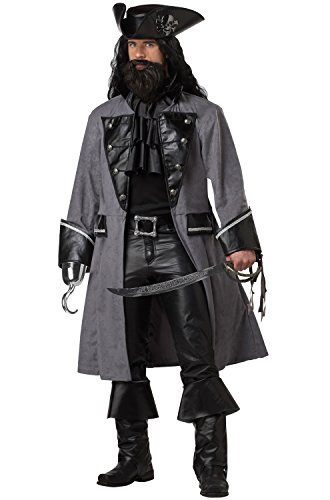 Blackbeard the Pirate Adult Costume (Large) ()
