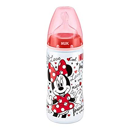 NUK Disney Minnie Mouse First Choice + Baby Botella de ...
