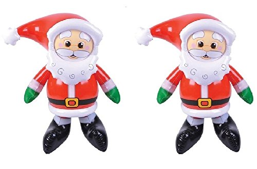 - Novelty Treasures Santa Claus Inflate (Set of 2) JOLLY 24