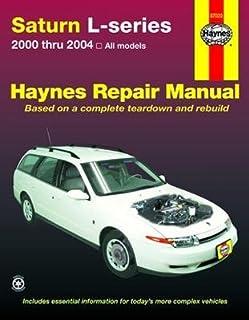 saturn l series 2000 2004 haynes repair manuals chilton rh amazon com 2002 Saturn L Series 2001 saturn l200 owners manual pdf