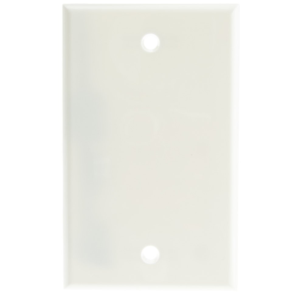 ACL ACL-524350 Wall Plate, Blank Cover Plate, Pack of 100, White