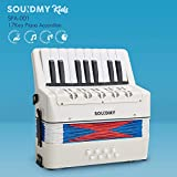 Souidmy Kids Accordion, 17 Keys 8 Bass piano