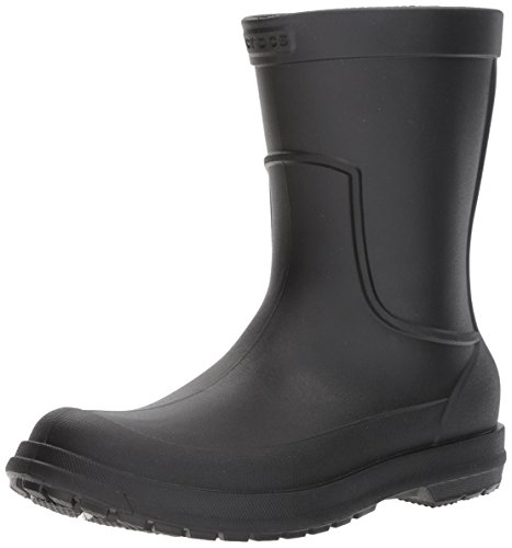 Crocs Men's AllCast M Rain Boot ,Black/Black, 10 M US ()