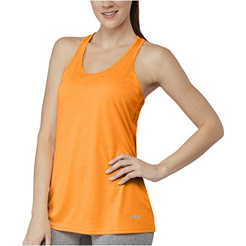 Pop Orange Women's Loose It Move Heather M Tank TxZxOzRw4q