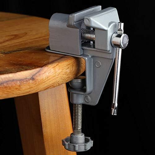 GENERICS LSB-Werkzeuge, Mini Tischschraubstock Bohrmaschine Stent zum Aufstecken Schmuckklemme Schraubstock Tragbarer Schraubstock Professionelles Werkzeug zum Bohren von Mini-Muttern