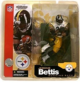 McFarlane NFL 5 Jerome Bettis Pittsburgh Steelers White Jersey Variation