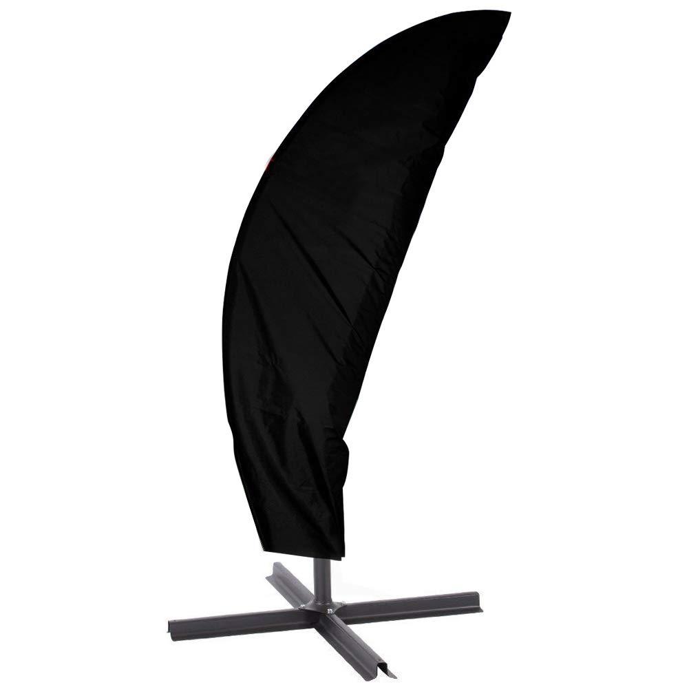 Patio Offset Umbrella Cover, Water Resistant Outdoor Cantilever Umbrellas Parasols Cover with Zipper 104'' High x 39'' Diameter