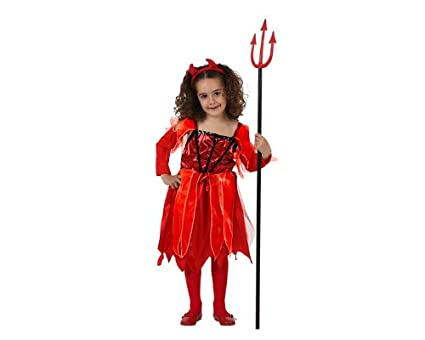 Atosa - Disfraz de diablesa para niña, talla 10-12 (8420000000000 ...