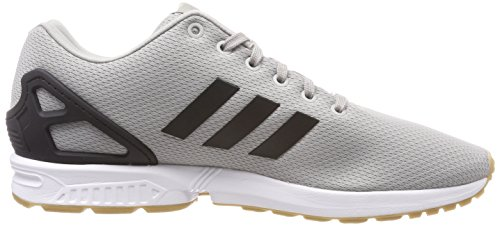 Grey Black adidas Solid Flux Zx Core Grey Gum Men's Trainers vHYa1