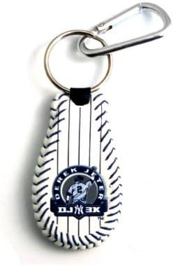 GameWear New York Yankees Keychain Baseball Derek Jeter DJ3K Pinstripe