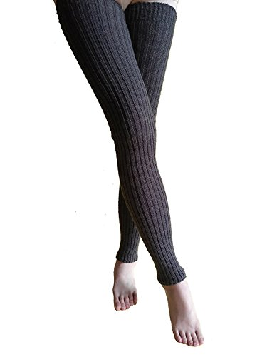 AiDeer 39 Inches Super Long Cable Knit Leg Warmers Leggings
