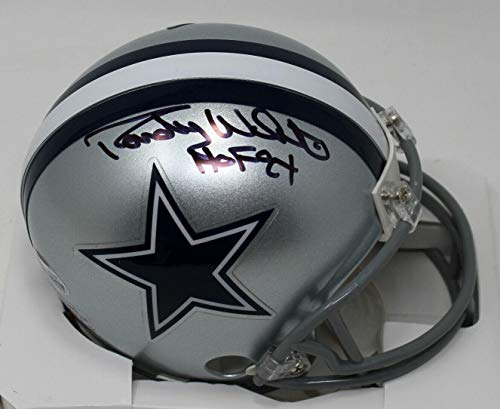 Randy White Signed Mini Helmet - Beckett Bas #n28438 - Beckett Authentication - Autographed NFL Mini Helmets