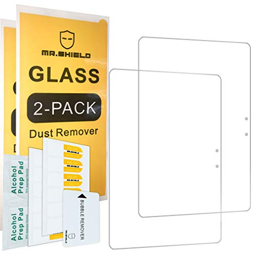 [2-Pack]-Mr Shield for Samsung Galaxy Book 12 12.2 Inch [Tempered Glass] Screen Protector [0.3mm Ultra Thin 9H Hardness 2.5D Round Edge] with Lifetime Replacement Warranty