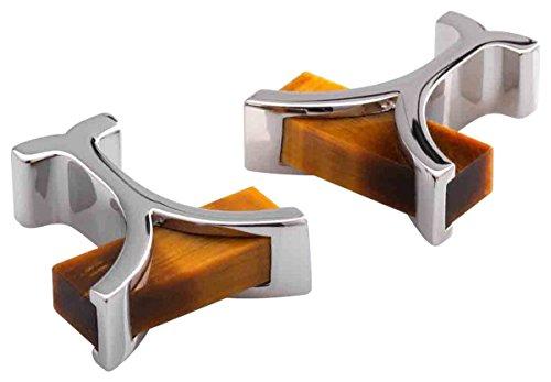 n Tigers Eye Cufflinks by Duncan Walton (Anderson Silver Cufflinks)