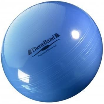 Thera-Band - Pelota para Fitness Azul Azul Talla:Ø 75cm: Amazon.es ...