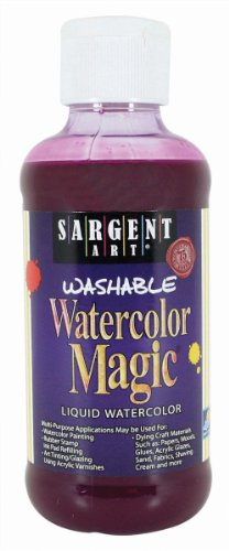 Sargent Art 22-6038 8-Ounce Watercolor Magic, Magenta ()