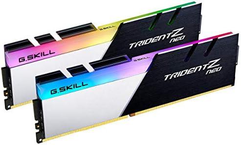G.Skill F4-3600C16D-16GTZNC Trident Z Neo (for AMD Ryzen) Series 16GB (2 x 8GB) 288-Pin RGB DDR4 SDRAM DDR4 Desktop Memory
