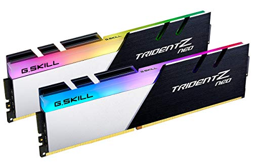 G.Skill Trident Z Neo Series 16GB (2 x 8GB) 288-Pin RGB PC4-28800 DDR4 3600MHz CL16-19-19-39 1.35V Desktop Memory Model F4-3600C16D-16GTZNC