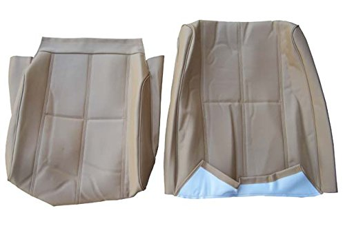Swedish Car Parts Volvo 240 245 265 Seat Cover Original Upholstery Beige Vinyl New Interior Color Code 5127 3 Double Stitched Line Pattern (Volvo 240 Seat Covers)