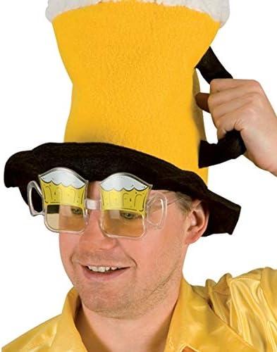Eurowebb Lunettes chopes bi/ère Mousseux marrante Costume d/éguisement