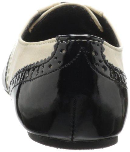 Women's Oxford Black Tie Cream Rated Black Not 8U6WgOF