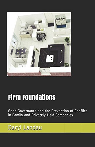Firm Foundation: Good Governance and the Prevention of Conflict in Family and Privately-Held Companies