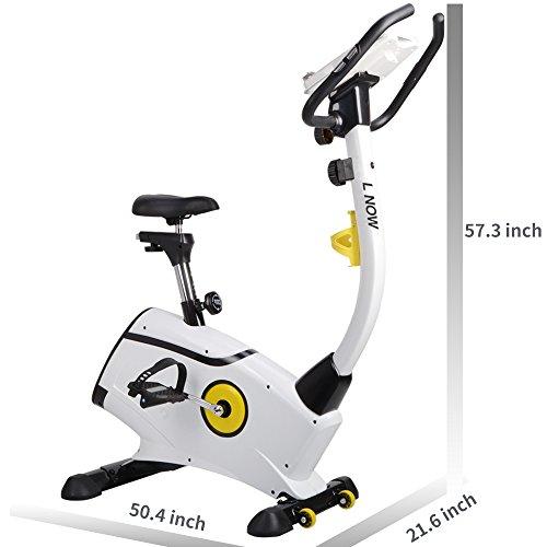 L NOW Upright Bike Magnetic Resistance Exercise Bike Indoor Stationary Bike D808