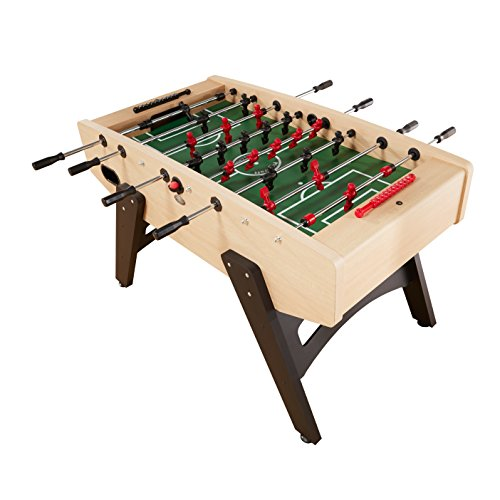 - Playcraft Milan - European Foosball Table, Light Maple Milan - European Foosball Table