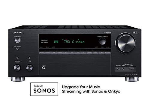 9.2 Channel 4k Network A/V Receiver Black - Onkyo TX-RZ730