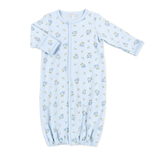 Printed Converter Gown (Magnolia Baby Baby Boys Counting Sheep Printed Converter Gown Blue)