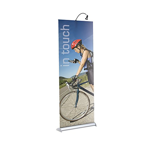 Banner Stands Mercury Retractable - Testrite Visual Office Tradeshow Display Mercury Retractable Banner Stand 48