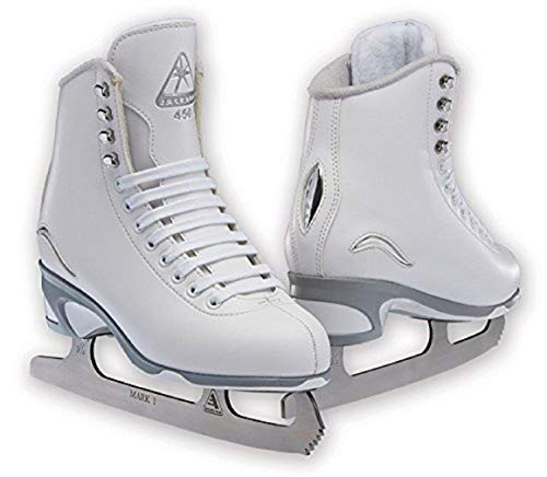 Jackson Ultima JS450 White Figure Ice Skates for Women/Adult 6