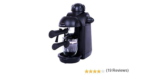 Sogo Semi Espresso Cafetera, 870 W, 0.24 litros, Plástico, Negro: Amazon.es: Hogar