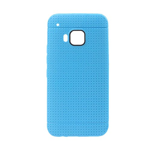 Meily® Cellular Phone Sets Protective Sleeve Plaid Outlets For HTC One M9 (Blue)