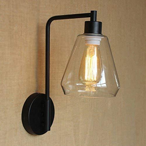 JZMB   Wandleuchte mit Klarglas-Lampenschirm Wandleuchten Industrielle Retro Dekorative Beleuchtung