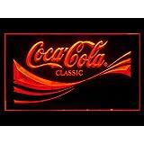 Coca Cola Coke Classic Soda Led Light Sign