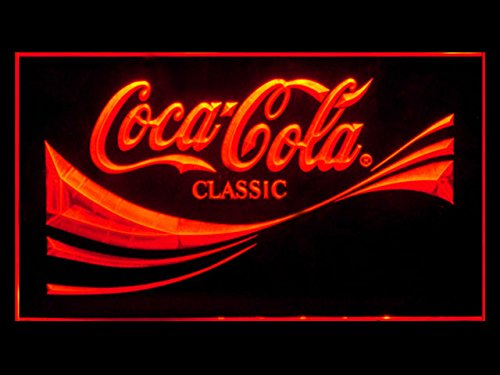 Coca Cola Coke Classic Soda Led Light Sign (Led Sign Sodas)