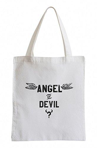 Angel or Devil Cooler Party Jutebeutel