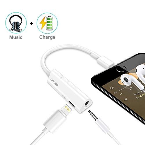 Iphone headphone adapter for 7, 8 and x iPhones.