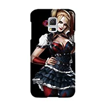 Samsung Galaxy S5 case, Comics Harley Quinn [Durable Anti-Slip] TPU Defensive Case Compatible with Samsung Galaxy S5
