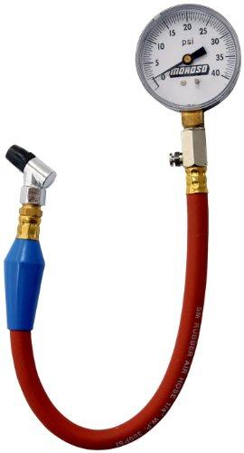 Price comparison product image Moroso 89550 Tire Pressure Gauge,  Dial Type,  0-15 psi